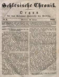 Schlesische Chronik, 1844, Jg. 9, No. 5