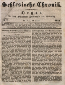 Schlesische Chronik, 1844, Jg. 9, No. 7