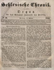 Schlesische Chronik, 1844, Jg. 9, No. 10