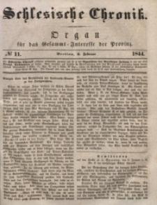 Schlesische Chronik, 1844, Jg. 9, No. 11
