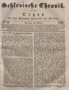 Schlesische Chronik, 1844, Jg. 9, No. 16