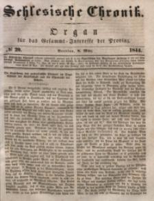 Schlesische Chronik, 1844, Jg. 9, No. 20