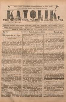 Katolik, 1882, R. 15, nr 44