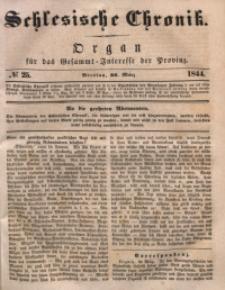 Schlesische Chronik, 1844, Jg. 9, No. 25