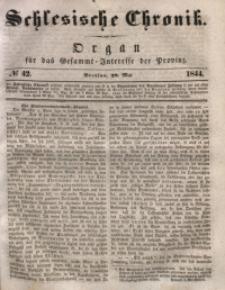 Schlesische Chronik, 1844, Jg. 9, No. 42