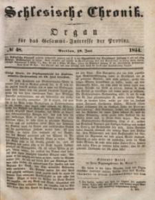 Schlesische Chronik, 1844, Jg. 9, No. 48