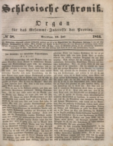 Schlesische Chronik, 1844, Jg. 9, No. 58