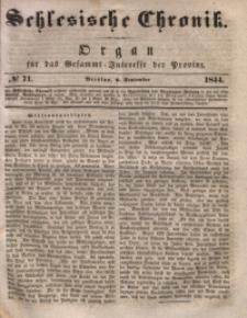 Schlesische Chronik, 1844, Jg. 9, No. 71