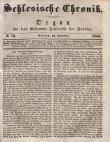 Schlesische Chronik, 1844, Jg. 9, No. 73