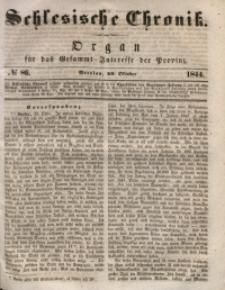 Schlesische Chronik, 1844, Jg. 9, No. 86