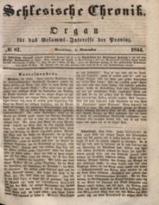 Schlesische Chronik, 1844, Jg. 9, No. 87