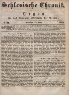 Schlesische Chronik, 1845, Jg. 10, No. 21