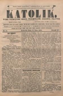 Katolik, 1882, R. 15, nr 54