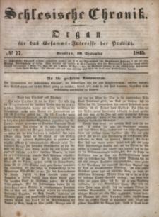 Schlesische Chronik, 1845, Jg. 10, No. 77