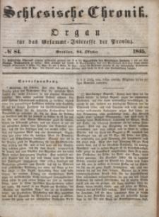 Schlesische Chronik, 1845, Jg. 10, No. 84