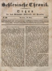 Schlesische Chronik, 1846, Jg. 11, No. 20