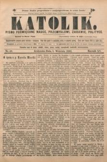 Katolik, 1882, R. 15, nr 68