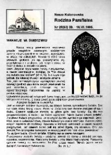 Nasza Kolonowska Rodzina Parafialna 1995, nr 28 (93).