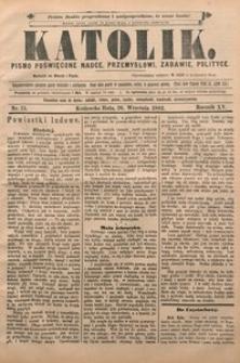 Katolik, 1882, R. 15, nr 75