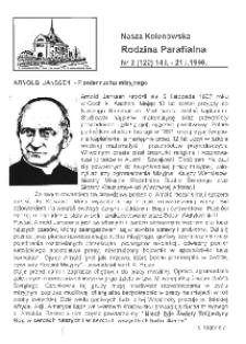 Nasza Kolonowska Rodzina Parafialna 1996, nr 2 (120).