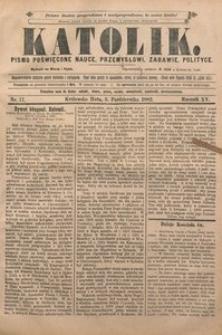 Katolik, 1882, R. 15, nr 77