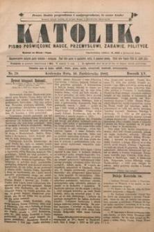 Katolik, 1882, R. 15, nr 79