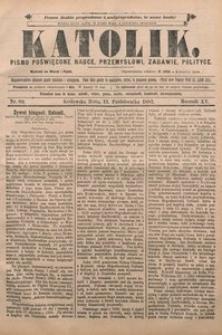 Katolik, 1882, R. 15, nr 80