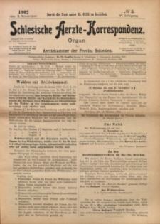 Schlesische Aerzte-Korrespondenz, 1902/1903, Jg. 6, No 3