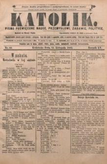 Katolik, 1882, R. 15, nr 89