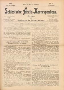 Schlesische Ärzte-Korrespondenz, 1906/1907, Jg. 10, No 2