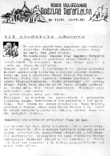 Nasza Kolonowska Rodzina Parafialna 1993, nr 13.