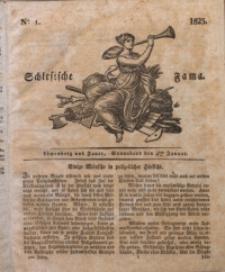 Schlesische Fama, 1823, Jg. 4, No. 1