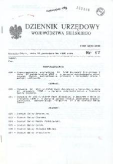 Dziennik Urzędowy Województwa Bielskiego, 1996, Nr 17