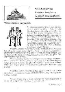 Nasza Kolonowska Rodzina Parafialna 1997, nr 26 (195).
