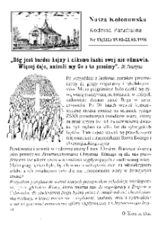 Nasza Kolonowska Rodzina Parafialna 1998, nr 11 (232).