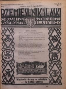 Rzemieślnik Śląski, 1930, R. 2, Nr. 4