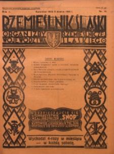Rzemieślnik Śląski, 1930, R. 2, Nr. 10
