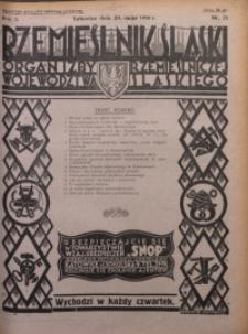 Rzemieślnik Śląski, 1930, R. 2, Nr. 21