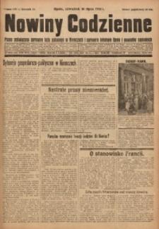 Nowiny Codzienne, 1931, R. 21, nr 159