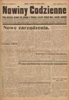 Nowiny Codzienne, 1931, R. 21, nr 161
