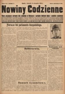 Nowiny Codzienne, 1931, R. 21, nr 181