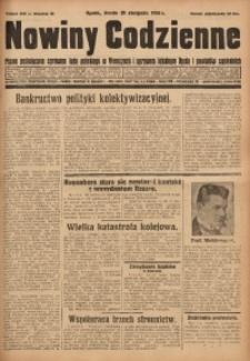 Nowiny Codzienne, 1931, R. 21, nr 188