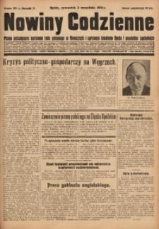 Nowiny Codzienne, 1931, R. 21, nr 201