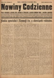 Nowiny Codzienne, 1931, R. 21, nr 204