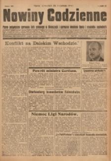 Nowiny Codzienne, 1931, R. 21, nr 219
