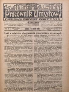 Pracownik Umysłowy, 1935, R. 16, Nr. 8