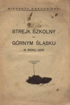 Strejk szkolny na Górnym Śląsku w roku 1906