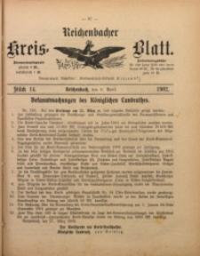 Reichenbacher Kreis-Blatt, 1902, St. 14
