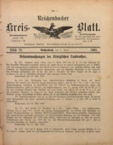 Reichenbacher Kreis-Blatt, 1902, St. 22