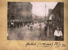 Pochód (1500 osób). 22 VI 1930 r.